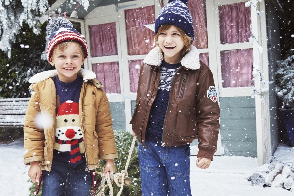 Kids fashion from Heatons at Christmas